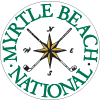 Myrtle Beach National: Color coordinate for items with embroidery, 1 thread color