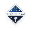 Folds of Honor Palmetto State Chapter Logo: Club Colors for items with embroidery