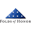 Folds of Honor Logo: Club Colors for items with embroidery