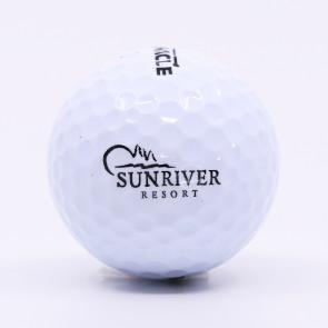 A Collection of 5 Sunriver Resort logo'd Golf Balls