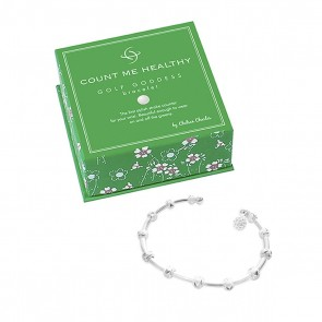 Silver with Golf Ball Bead Charm Gift Box